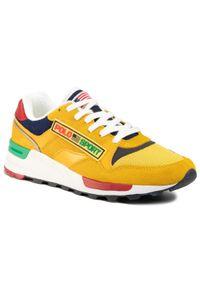 Żółte sneakersy Polo Ralph Lauren