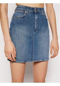 Niebieska spódnica jeansowa Wrangler