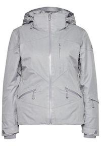The North Face Kurtka narciarska Lenado NF0A3M5BX8A1 Szary Slim Fit. Kolor: szary