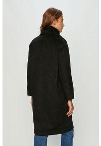 Czarny płaszcz Haily's bez kaptura, klasyczny