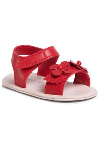 Czerwone sandały Mayoral z aplikacjami, na lato, casualowe, na co dzień