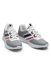 U.S. Polo Assn - Sneakersy U.S. POLO ASSN. - Gary125 GARY4125S1/MY1 Grey. Okazja: na co dzień. Kolor: szary. Materiał: skóra ekologiczna, materiał, skóra. Szerokość cholewki: normalna. Styl: casual, elegancki, sportowy