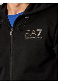 EA7 Emporio Armani Bluza 6KPMA5 PJARZ 1200 Czarny Regular Fit. Kolor: czarny