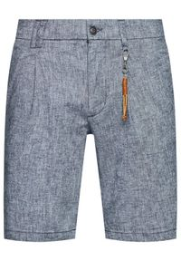 Jack & Jones - Jack&Jones Szorty materiałowe Milton 12188357 Granatowy Regular Fit. Kolor: niebieski. Materiał: materiał