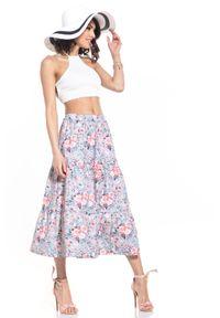 Spódnica Tessita w kwiaty, długa