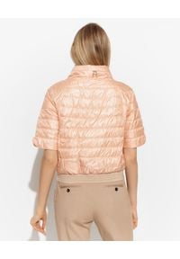 DIEGO M - Dwustronna kurtka z krótkim rękawem. Kolor: biały. Materiał: materiał. Długość rękawa: krótki rękaw. Długość: krótkie #3