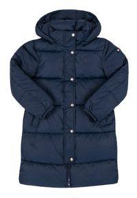 Niebieski płaszcz TOMMY HILFIGER #1