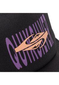 Czarna czapka z daszkiem Quiksilver