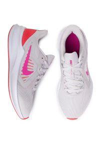 Szare buty do biegania Nike Nike Downshifter, z cholewką
