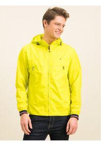 TOMMY HILFIGER - Tommy Hilfiger Kurtka przejściowa Light Weight Hooded MW0MW12216 Żółty Regular Fit. Kolor: żółty