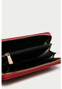 Czerwony portfel Trussardi Jeans