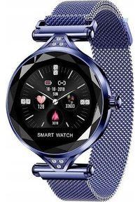 Niebieski zegarek Frahs smartwatch