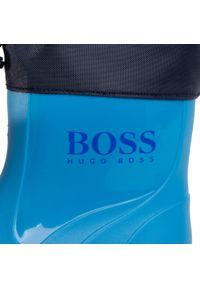 Niebieskie kalosze BOSS klasyczne, z cholewką #7