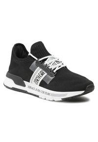 Versace Jeans Couture Sneakersy E0YWASA7 Czarny. Kolor: czarny