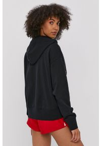 Nike Sportswear - Bluza. Kolor: czarny. Materiał: dzianina. Wzór: nadruk
