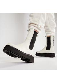 Białe buty trekkingowe Bronx