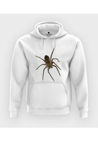 MegaKoszulki - Bluza z kapturem Spider 3D. Typ kołnierza: kaptur