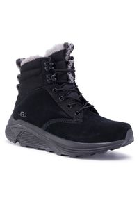 Czarne buty zimowe Ugg