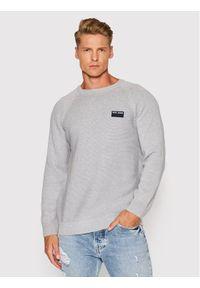 Pepe Jeans Sweter Edward PM702168 Szary Regular Fit. Kolor: szary