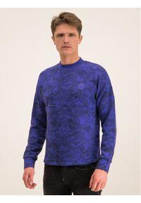 Napapijri Bluza Biel N0YIYV Fioletowy Regular Fit. Kolor: fioletowy