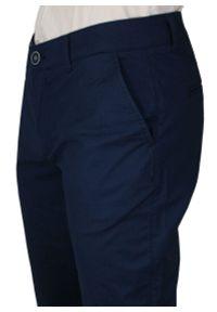 Niebieskie spodnie Rigon na co dzień, na lato