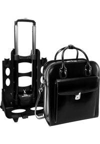 """Torba MCKLEIN Damska torba z odpinanym wózkiem La Grange 15,6"""""""