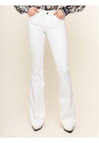 Białe jeansy bootcut Liu Jo