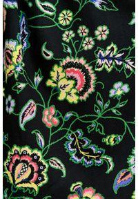 Marie Zélie - Sukienka Aglaia Pictus. Typ kołnierza: kołnierzyk stójkowy. Materiał: bawełna, wiskoza. Wzór: kwiaty