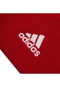 Czerwona czapka zimowa Adidas