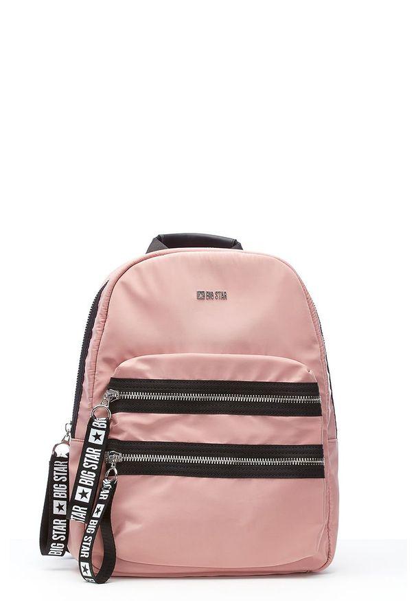 Różowy plecak Big Star Accessories