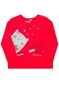 Primigi Bluzka 43216501 Czerwony Regular Fit. Kolor: czerwony