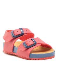 Czerwone sandały Garvalin