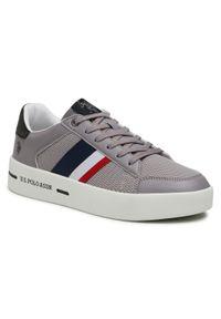 U.S. Polo Assn - Sneakersy U.S. POLO ASSN. - Vega141 VEGA4141S1/LT1 Grey. Okazja: na co dzień. Kolor: szary. Materiał: skóra, skóra ekologiczna, materiał. Szerokość cholewki: normalna. Styl: sportowy, casual