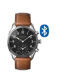 Kronaby Połączony wodoodporny zegarek Apex A1000-0729. Styl: retro