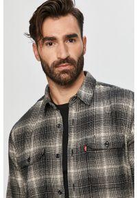 Czarna koszula Levi's® długa, z klasycznym kołnierzykiem, w kolorowe wzory, z długim rękawem #5