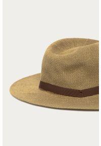 Oliwkowy kapelusz Brixton gładki