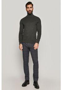 medicine - Medicine - Sweter Lux Black. Okazja: na co dzień. Kolor: szary. Długość rękawa: długi rękaw. Długość: krótkie. Styl: casual