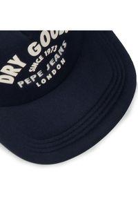 Niebieska czapka z daszkiem Pepe Jeans