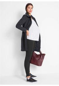 Legginsy ciążowe (2 pary) bonprix czarny + czarny. Kolekcja: moda ciążowa. Kolor: czarny