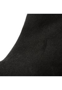 Kazar - Botki KAZAR - Lucie 30559-L4-00 Czarny. Zapięcie: zamek. Kolor: czarny. Materiał: zamsz, lakier, skóra. Szerokość cholewki: normalna. Wzór: aplikacja. Obcas: na obcasie. Styl: elegancki. Wysokość obcasa: średni