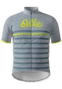 Koszulka rowerowa Odlo z nadrukiem
