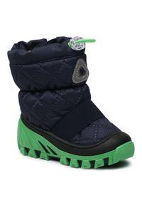Bartek - Śniegowce BARTEK - 1465-KA5W Multi Zielony. Kolor: niebieski. Materiał: materiał. Sezon: zima, jesień