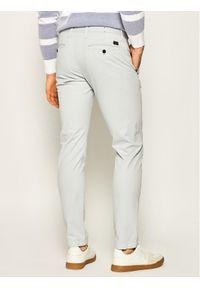 Strellson Spodnie materiałowe Code-D 30020082 Szary Slim Fit. Kolor: szary. Materiał: materiał