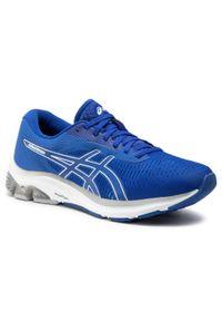Niebieskie buty do biegania Asics z cholewką
