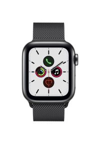 Czarny zegarek APPLE cyfrowy