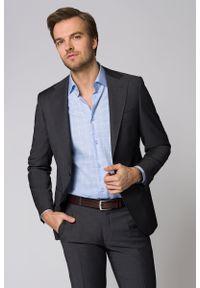 Szary garnitur Lancerto w kolorowe wzory