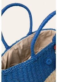 Niebieska torba plażowa Pepe Jeans