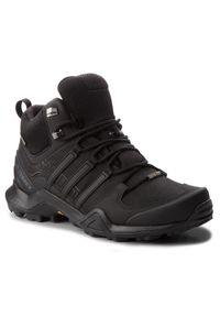 Adidas - Buty adidas - Terrex Swift R2 Mid Gtx GORE-TEX CM7500 Cblack/Cblack/Cblack. Zapięcie: sznurówki. Kolor: czarny. Materiał: materiał. Technologia: Gore-Tex. Model: Adidas Terrex. Sport: wspinaczka