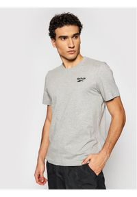 Szary t-shirt Reebok Classic