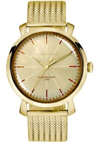 Złoty zegarek Giacomo Design elegancki